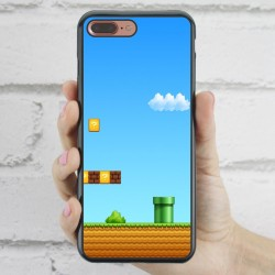 Funda iPhone 7 Plus Mario Bros