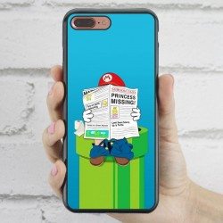 Funda iPhone 7 Plus Mario wc