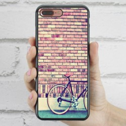 Funda iPhone 7 Plus Hipster Bici