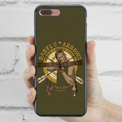 Funda iPhone 7 Plus The Walking Dead Daryl ballesta