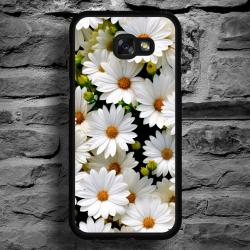 Funda Galaxy A5 2017 estampado margaritas natural