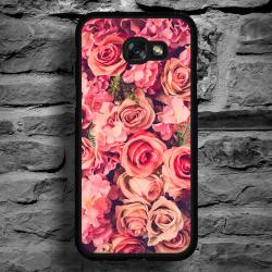 Funda Galaxy A5 2017 estampado rosas natural