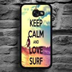 Funda Galaxy A5 2017 frase surf