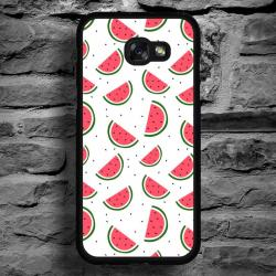 Funda Galaxy A5 2017 sandias fondo blanco