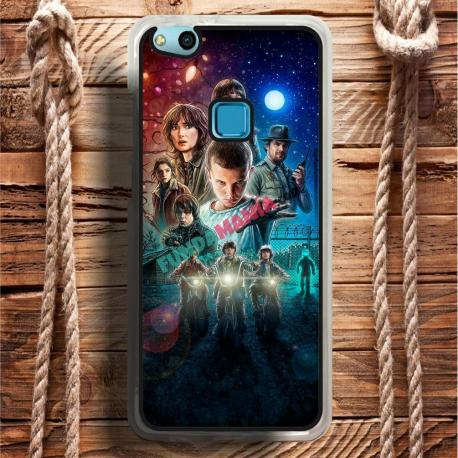 Funda Huawei P10 Lite stranger things