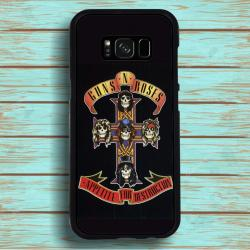 Funda Galaxy S8 guns and roses portada album