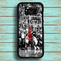 Funda Galaxy S8 michael jordan