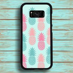 Funda Galaxy S8 piñas tonos suaves