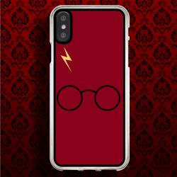 Funda Iphone X harry potter fondo rojo