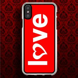 Funda Iphone X i love