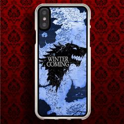 Funda Iphone X casa stark mapa