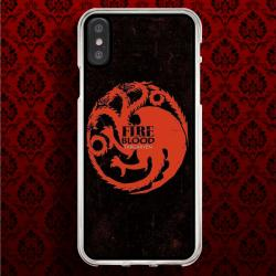 Funda Iphone X casa targaryen