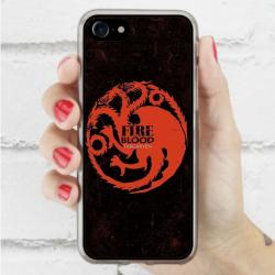 Funda Iphone 8 escudo casa targaryen