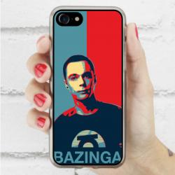 Funda Iphone 8 sheldon bazinga
