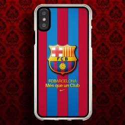 Funda Iphone X fc barcelona escudo