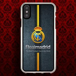 Funda Iphone X real madrid escudo