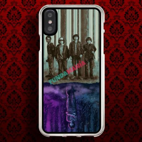 Funda Iphone X stranger things el mundo del revés
