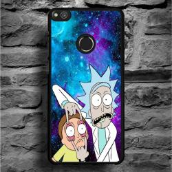 Funda Huawei P8 Lite 2017 rick y morty