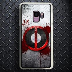 Funda Galaxy S9 deadpool logo