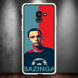 Funda Galaxy A5 2018 sheldon bazinga