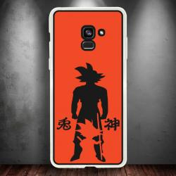 Funda Galaxy A5 2018 goku evolution