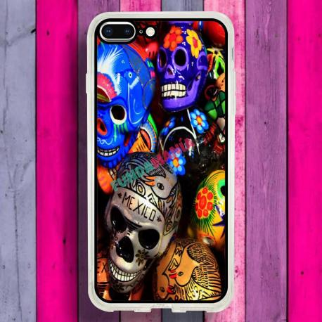 carcasa iphone 8 plus calavera