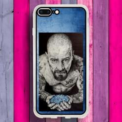 Funda Iphone 8 Plus heisenberg cristal azul