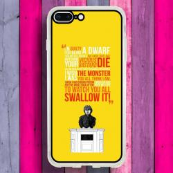 Funda Iphone 8 Plus tyrion frases