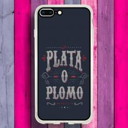 Funda Iphone 8 Plus narcos plata o plomo