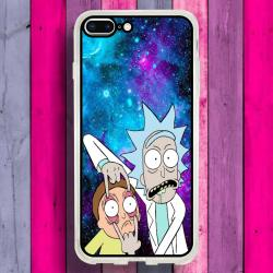 Funda Iphone 8 Plus rick y morty