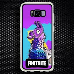 Funda Galaxy S8 Plus llama colors fortnite