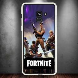 Funda Galaxy A5 2018 equipo fortnite