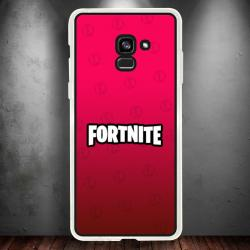 Funda Galaxy A5 2018 fortnite red edition